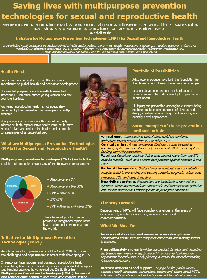 Saving lives with multipurpose prevention technologies for sexual and reproductive health