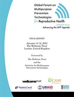 Global Forum on Multipurpose Prevention Technologies
