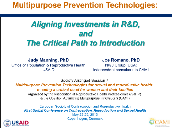 Aligning investments in MPT R&D and the critical path to MPT introduction