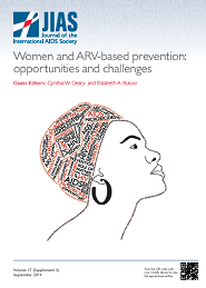 Women and ARV-based prevention: opportunities and challenges.