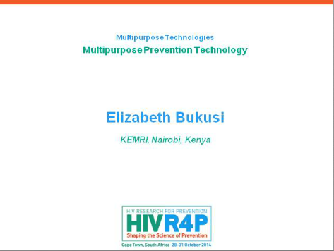 Multipurpose Prevention Technologies