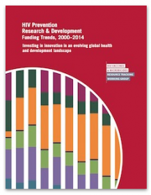 HIV Prevention Research & Development Funding Trends, 2000-2014: Investing in innovation in an evolving global health and development landscape