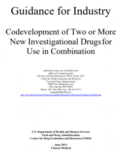 Codevelopment of Two or More New Investigational Drugs for Use in Combination