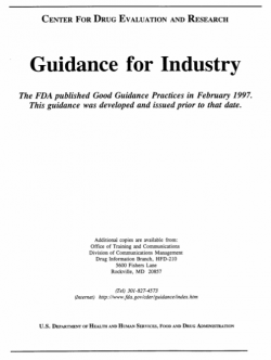 Guidance for development of vaginal contraceptive drugs