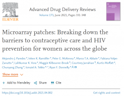 Microarray patches: Breaking down the barriers to contraceptive care and HIV prevention for women across the globe